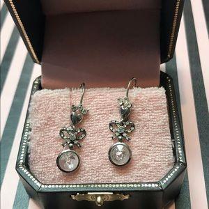 Juicy Couture vintage earrings,dangling 1920 look